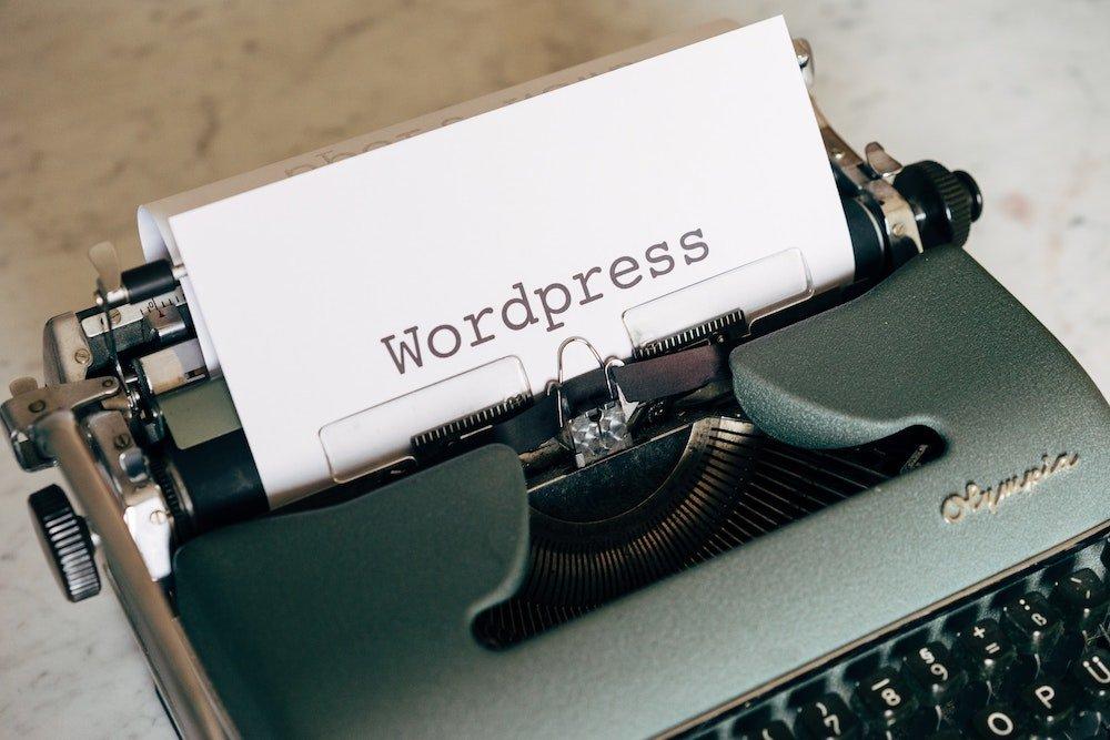 wordpress san antonio. typewriter